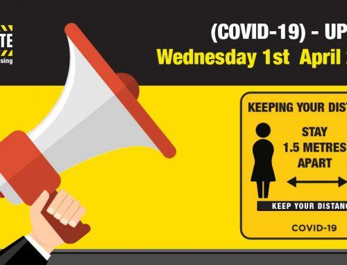 COVID-19 | UPDATE